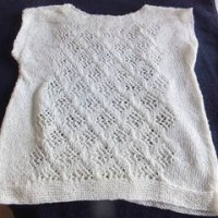 手編みセーター④