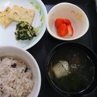 栄養科特製、本日の昼食(常菜食)