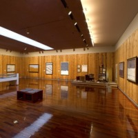 松本市美術館の田村一男記念展示室