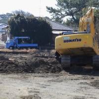 荒尾干潟ビジターセンター(仮称) 事前の工事