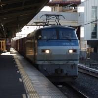 EF66-123号機@吹上駅