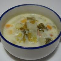 白菜クリームスープ
