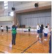 みんなでスポーツ教室東部3回目 7月22日(土)長岡体育館