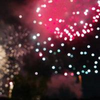 大濠公園の花火大会へ行って来ました