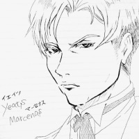 【執事】セシル(ボールペン落書き)