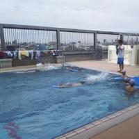 7年体育男子  水泳の授業です!