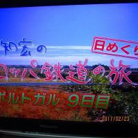 日記(2.23)朝のTV番組