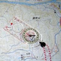 地図とコンパスで鳩吹山登山
