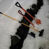 ランクル雪掃除ガイダンス