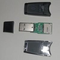 microUSB・USB両方で使えるmicroSDカードリーダーを作る。
