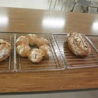 コープカルチャー上級クラス・・フルーツカンパーニュ(ライサワーブレッド)、ダブルチーズブレッド