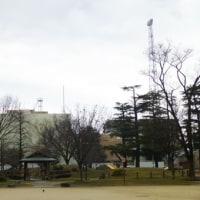前NHKの西塔がなくなった