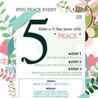 Facebookで平和イベント