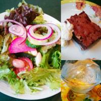 カキときのこのクリームリゾットとアサリとイカのトマトソース(伊風レストラン ジラソーレ)