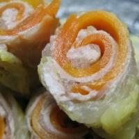 白菜豚ロール煮(レシピ)