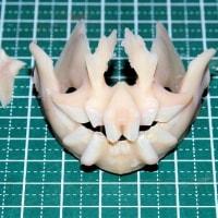 死んだエチオピクスの上下顎