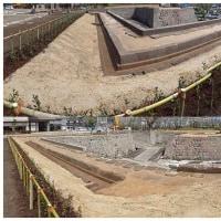 鶴丸城跡の石垣清掃・修復が終わりましたね。