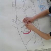 鯉のぼり製作開始☆