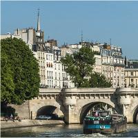 パリ・船遊び