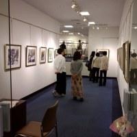 今日から喜寿記念水彩画展