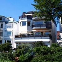 豪邸だらけのハンブルクの湖畔   in  ドイツ
