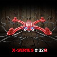5%off-MJX X102H X-SERIES 4CH 6軸 ジャイロ 高度 ホールド ワンキー リターン RC クアッドコプター RTF 2.4GHz (AT-30 4K カメラ付)