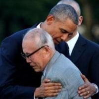 オバマのこれみよがしの抱擁、だからこそ、警戒しなければならない。 彼らは、仕掛け始めている。