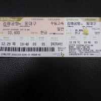 大邱・ソウル・釜山紀行(2016-2017)(Day1)