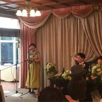 友達の結婚式!素敵なパーリーでした!