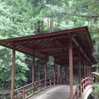愛媛県の屋根付き橋