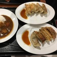 髙橋製麺所の味玉つけ麺821円+餃子10個486円+チキンカレー292円♪