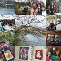 同級生8人で母校訪問@兵庫県川西市