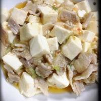 豆腐と豚肉のうま煮❤︎