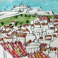 1068.サンタ・ルジア要塞とエルヴァス