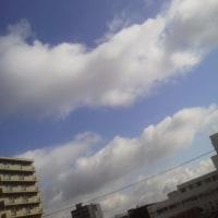 2017/4/28  午前8時前札幌の空模様