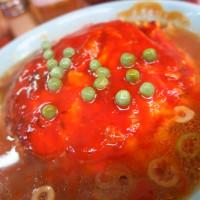 やよい軒@新富町 「天津麺」