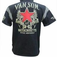 vanson バンソン ポロシャツ ワンスター  NVPS-708