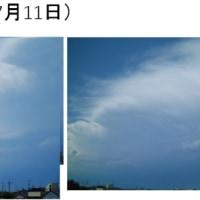ひきつづき、雷と雹