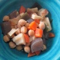 ひよこ豆の五目煮豆