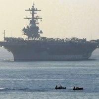 米国 北朝鮮をけん制するため3隻目の空母を西太平洋へ派遣