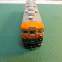 KATOの10-1389 165系急行「アルプス」8両セットがようやく入線しました。