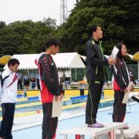 県高体連水泳競技2日目!