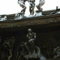 静岡県立美術館 地獄の門の考える人