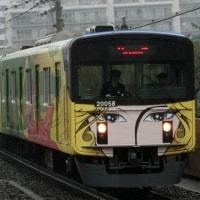 20158編成が999電車2代目を引き継ぐ