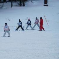 ベストコンディションで6年スキー教室