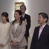 皇太子一家 ルノワール展鑑賞