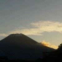 昨日の富士山?