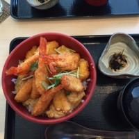 甘エビカツ丼