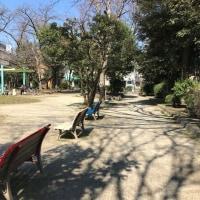 公園で At the park
