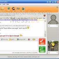 Windows Live Messenger のスクリーンショットがリーク?